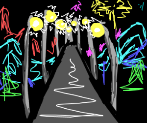 MLP rarity visits blackpool lights