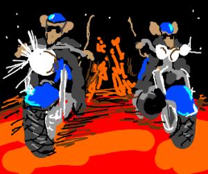 Teenage Mutant Biker Mice From Mars.