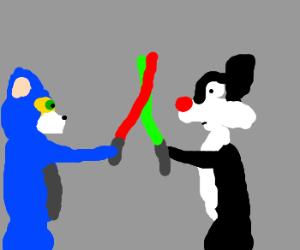 Cat vs. cat: Tom vs. Sylvester
