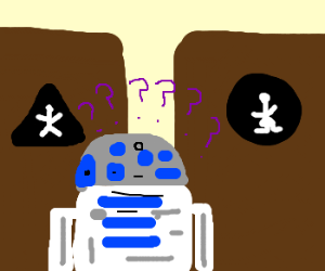 R2D2 Looking for gender neutral bathroom