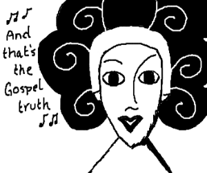 Gospel Singer from the Hercules cartoon.