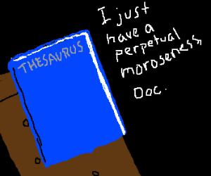 Thesaurus at Therapist