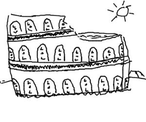 The Roman Lolosseum