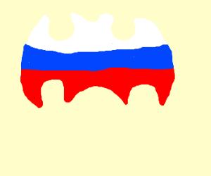 The Russian bat signal