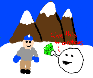 Humanitaire snowball