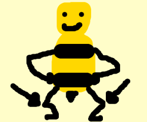 its the bees knees drawception