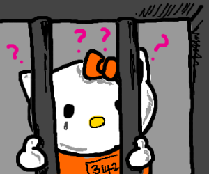 Why is Hello Kitty in prison?