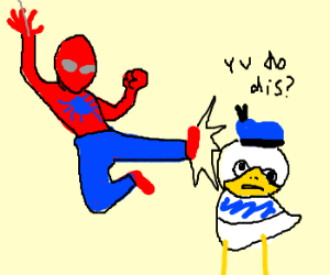 Dolan duck spiderman - photo#6