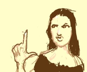 Mona lisa hates y'all.