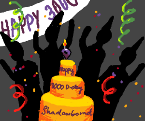 Shadowbound's 3000th Game