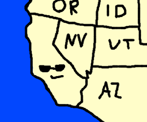 California, funkiest state in the union!