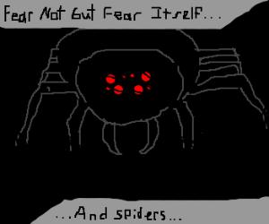 fear not but fear itself