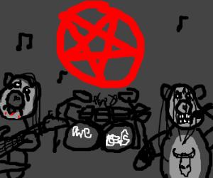 Care Bear rock band