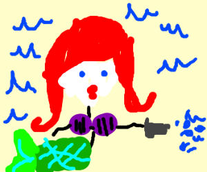 ariel the watergun