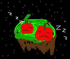 MJ's Island of Sleeping Apples.. in Space!