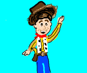 Sheriff Woody is that a Banana in Your Holster