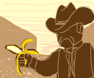 Fastest banana peeler in the west
