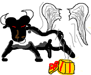 Black Bull also gives you wings.