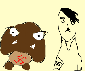 Goomba joins the Schutzstaffel