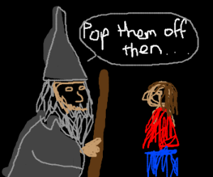 gandalf the pervert doctor