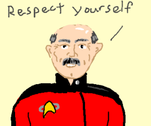 Starfleet considers Dr. Phil fans expendable.