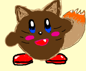 If Kirby was a Furby