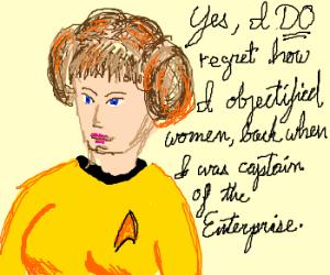 Princess Captain Kirk explains long term love.