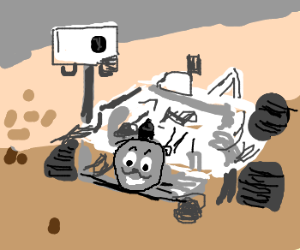 Thomas The Tank Engine Goes To Mars