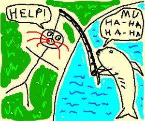 Reverse fishing