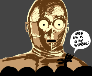 Crow T Robot disses C3PO