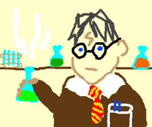 Harry Potter, Raised by Scientists
