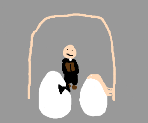 Two eggs getting married