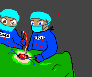 clever doctors doing clever operation