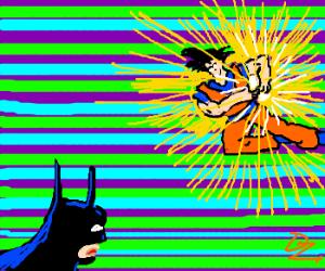 goku vs batman, deathmatch. FIGHT!