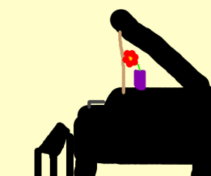 pianist's muse