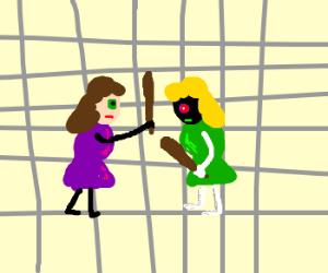 Sambchop vs. Pohcbmas in cage match