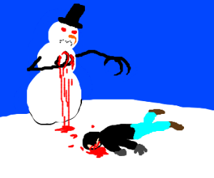 Frosty finally snaps and kills a man