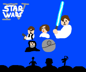 Mike and the bots riff on Star Wars: Ep. IV