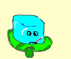 Sick ice cube