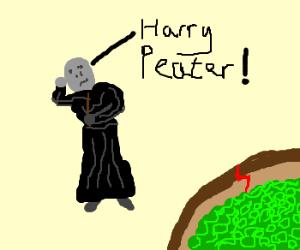 Voldemort hates peas
