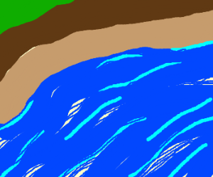 Draw something inspired by the color: Blue