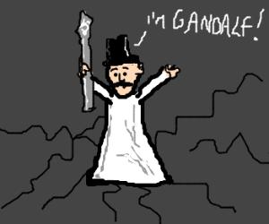 Scatman John is a Gandalf now.