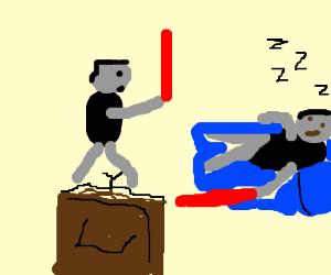 Lazy Jedi