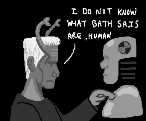 Andorian tests exotic bath salt on crash dummy