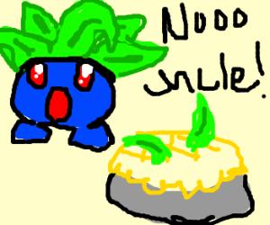Oddish's relative made into pokepie