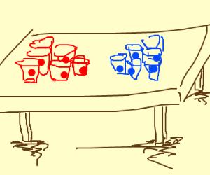 red vs blue pong