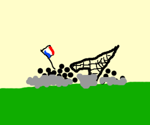 Mob takes down the Eiffel Tower