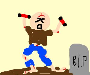 Zombie try to dance Zumba