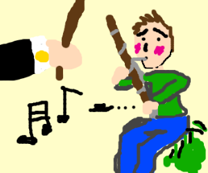 Bassoonist farts in the middle of a concert
