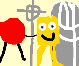 Gumball & SpongeBob In Vatican City